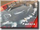 """Аэрография - рисунок на капоте """"Пантера"""""""
